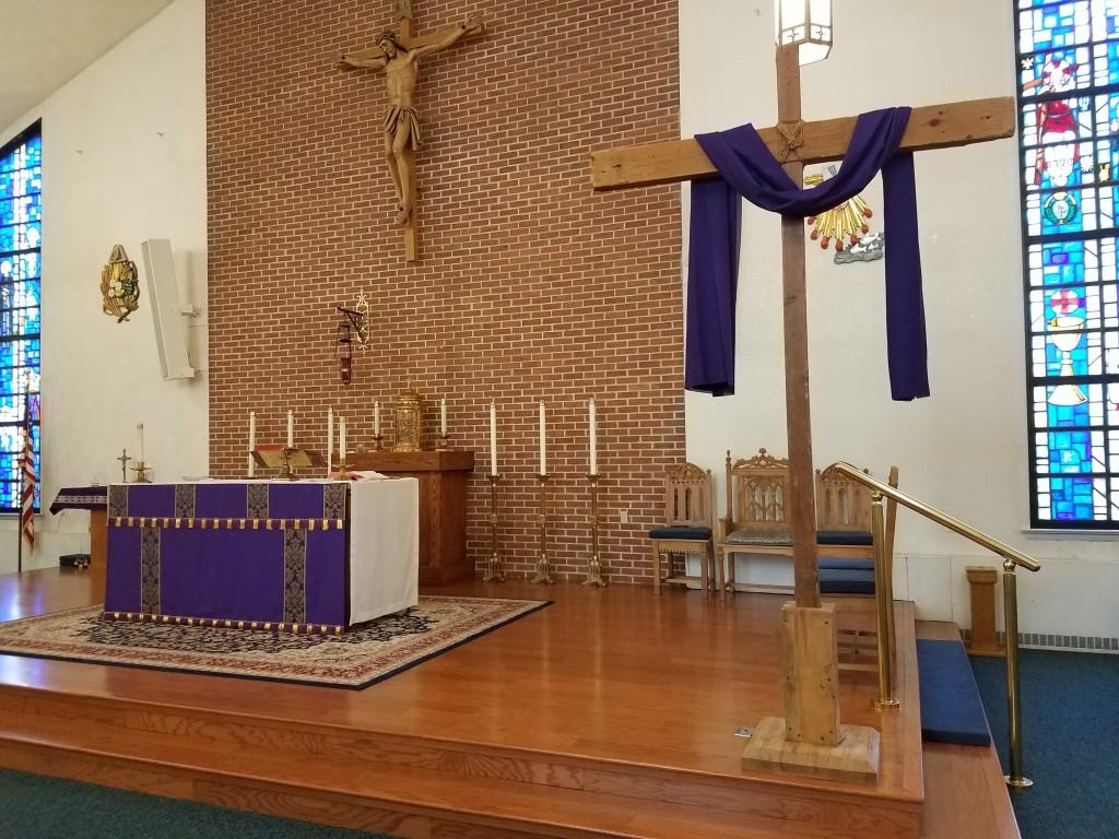 Altar Lenten Cross