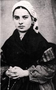 Story of Saint Bernadette page